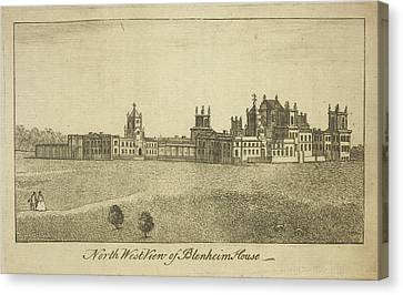 Blenheim Palace Canvas Print by British Library