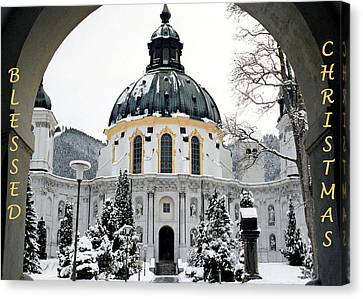 Print On Canvas Print - Blessed Christmas by Dawn Currie