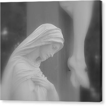 Blessed Mother Canvas Print by Beth Vincent