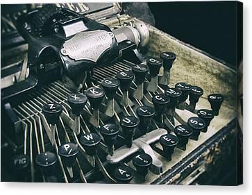 Blickensderfer Typewriter Canvas Print by Daniel Hagerman