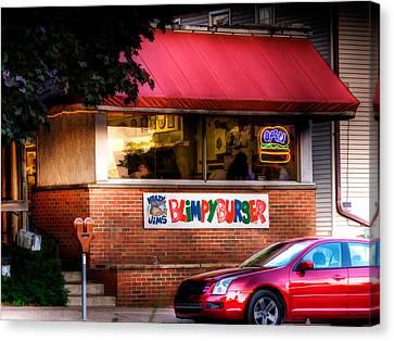 Blimpy Burger Canvas Print