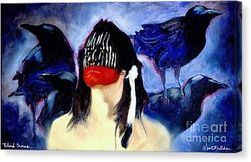 Blind Crows... Canvas Print by Will Bullas