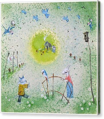 Jerusalem Canvas Print - Blind Date by Nekoda  Singer