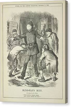 Blind-man's Buff Canvas Print by British Library