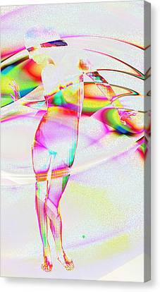 Blinded By The Light Canvas Print by Kiki Art