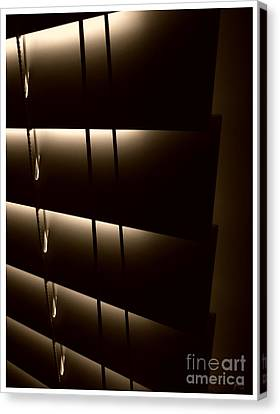 Blinds Canvas Print by Jeff Breiman