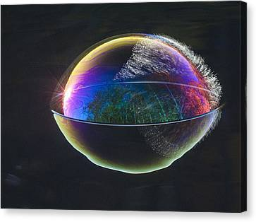 Canvas Print featuring the photograph Blink Of An Eye by Terry Cosgrave