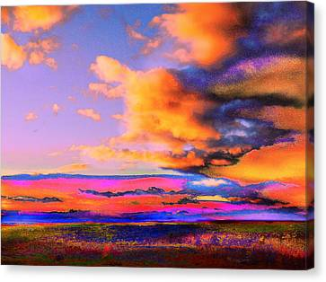 Blinn Hill View Canvas Print