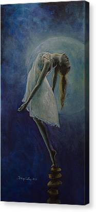 Bliss Canvas Print by Dorina  Costras