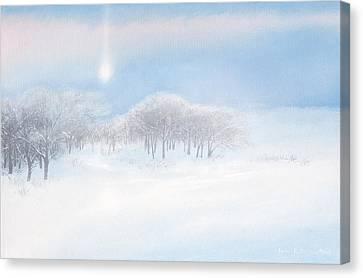 Blizzard Coming Canvas Print by Lynn Hansen