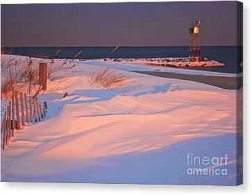 Blizzard Juno Sunset Canvas Print