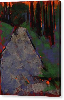 Bloedel Road Canvas Print by Mary McInnis