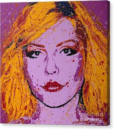 Blondie Canvas Print by Chris Mackie