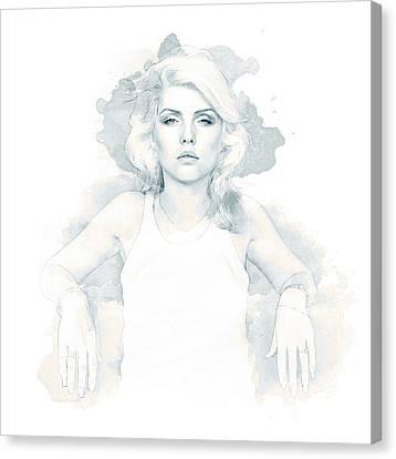 Blondie Canvas Print by Kurt Ramschissel