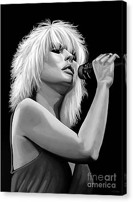 Blondie Canvas Print by Meijering Manupix