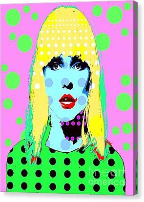 Blondie Canvas Print by Ricky Sencion