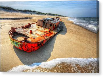 Blood And Guts I - Outer Banks Canvas Print by Dan Carmichael