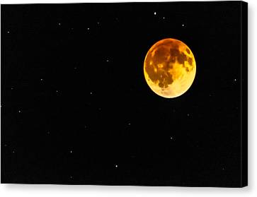 Blood Eclipse Canvas Print