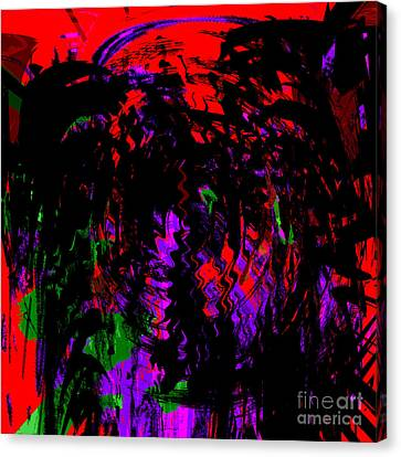 Canvas Print - Blood From Under Your Nails by Ashantaey Sunny-Fay