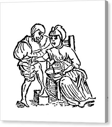 1596 Canvas Print - Blood Letting As A Cure by Universal History Archive/uig