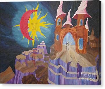 Blood Moon Canvas Print by Richard Dotson