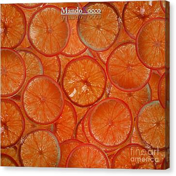 Blood Orange Canvas Print