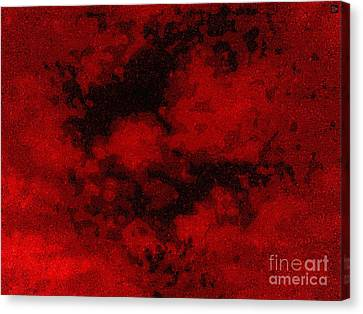 Canvas Print featuring the photograph Blood Sky by Andy Heavens