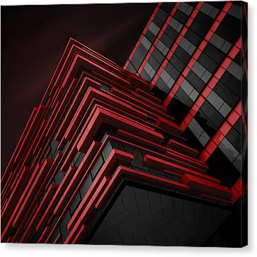Blood Stream Canvas Print by Nadav Jonas