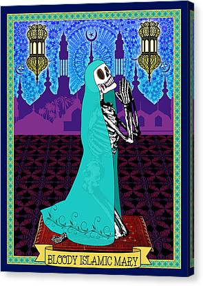 Bloody Islamic Mary Canvas Print by Tammy Wetzel