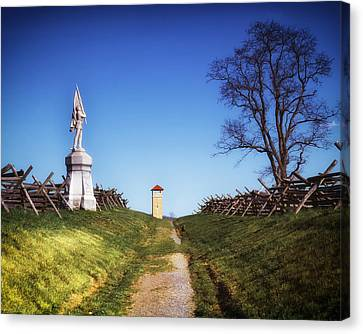 Against The War Canvas Print - Bloody Lane - Antietam Battlefield by Mountain Dreams