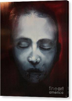 Ghost Story Canvas Print - Bloody Mary by Michael Parsons