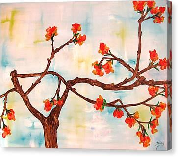 Bloom Canvas Print by Doris Cohen