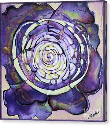 Bloom Iv Canvas Print by Shadia Derbyshire