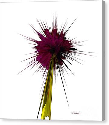 Bloom Canvas Print by Tatjana Popovska