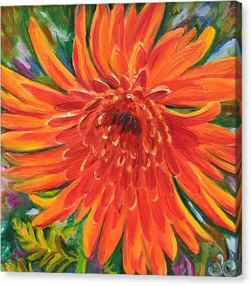Bloom Canvas Print by Trina Teele