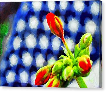 4th July Canvas Print - Blooming On The 4th Of July by Digital Photographic Arts