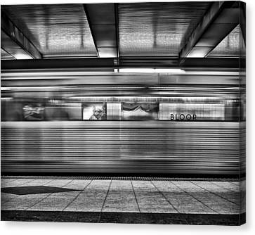 Canvas Print featuring the photograph Bloor by Brian Carson