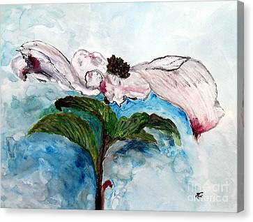 Blossom Canvas Print by Ayasha Loya