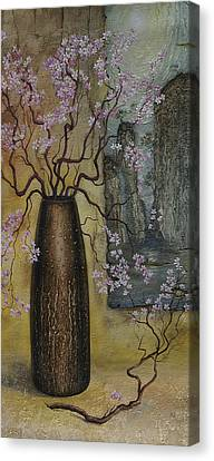 Blossom Canvas Print by Vrindavan Das