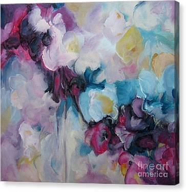 Blossoming Iv Canvas Print by Elis Cooke