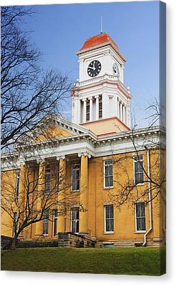 Blount County Courthouse Canvas Print by Melinda Fawver
