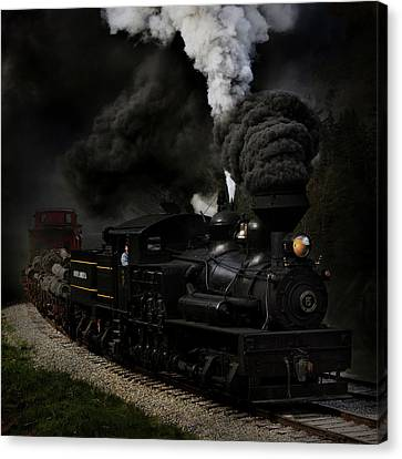 Blow That Whistle Canvas Print by Chuck Gordon