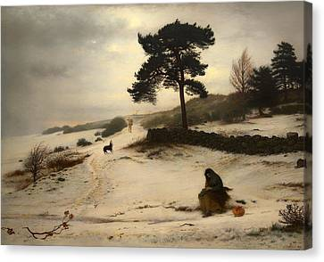 Stonewall Canvas Print - Blow Thou Winter Wind by Mountain Dreams