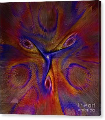 Blow Your Mind Canvas Print by Deborah Benoit