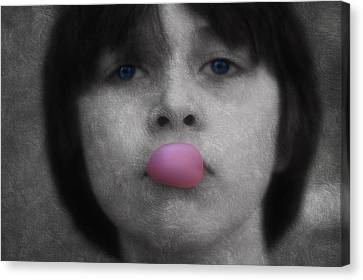 Blowing Bubbles Canvas Print by Melanie Lankford Photography