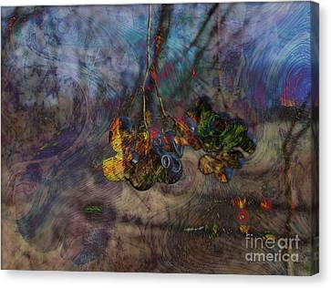 Canvas Print featuring the photograph Blowin'in The Wind by Kathie Chicoine