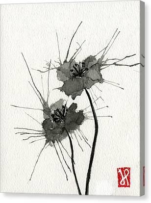 Blown Poppies Canvas Print by Jamie Seul