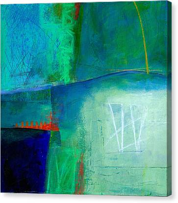 Blue #1 Canvas Print by Jane Davies