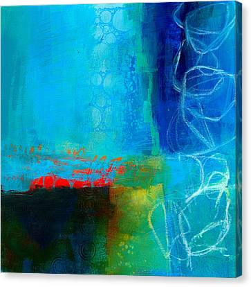 Blue #2 Canvas Print by Jane Davies