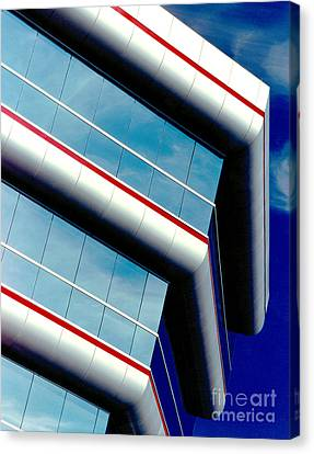 Blue Angled Canvas Print by Gary Gingrich Galleries